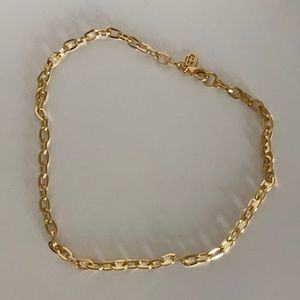 Ben-Amun oval link chain necklace NWOT